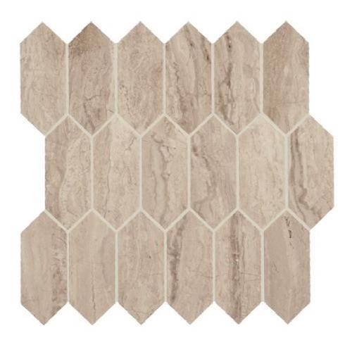 Marble Attache Travertine - Hexagon