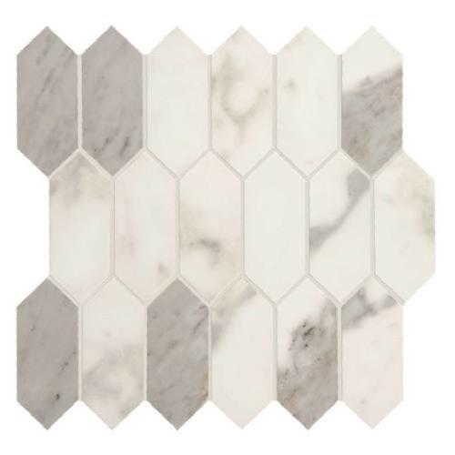 Marble Attache Calacatta - Hexagon