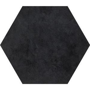 CeramicPorcelainTile BeeHive P0112420HEX1P Black24x20