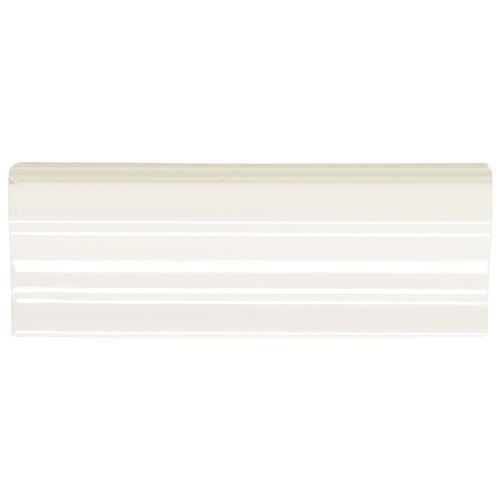 Rittenhouse Square White Shelf Rail 2X6 K101