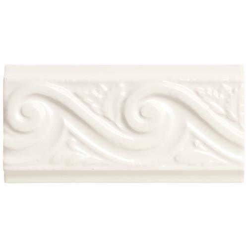 Rittenhouse Square White Wave 3X6 K101