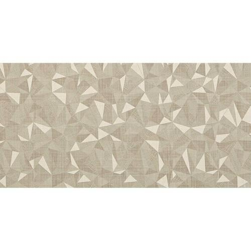 Fabric Art Modern Kaleidoscope Natural Prism 12X24 MK70