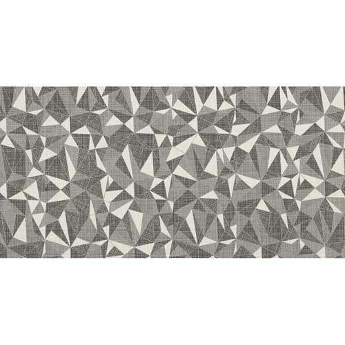 Fabric Art Modern Kaleidoscope White Ash Prism 12X24 MK71