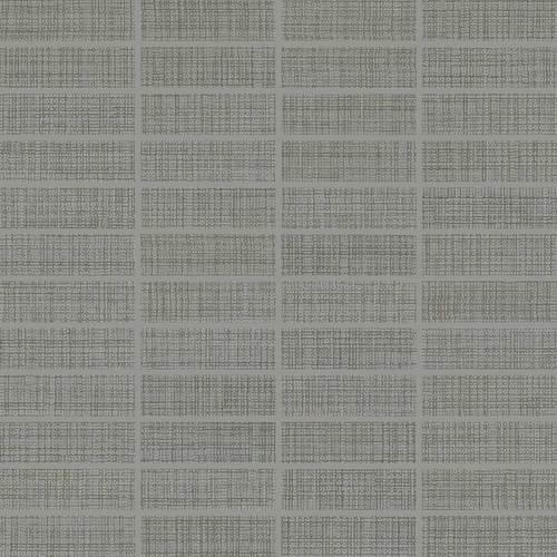 Fabric Art Modern Textile Medium Gray 1X3 MT53