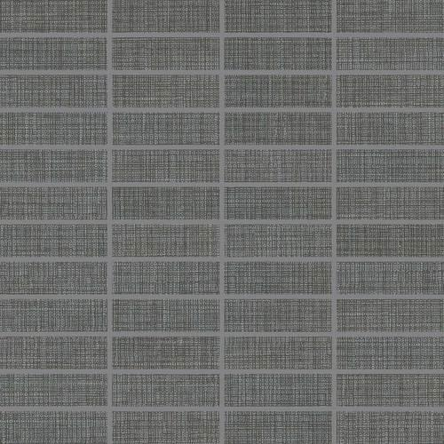Fabric Art Modern Textile Dark Gray 1X3 MT54
