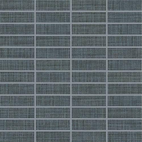 Fabric Art Modern Textile Midnight Blue 1X3 MT55