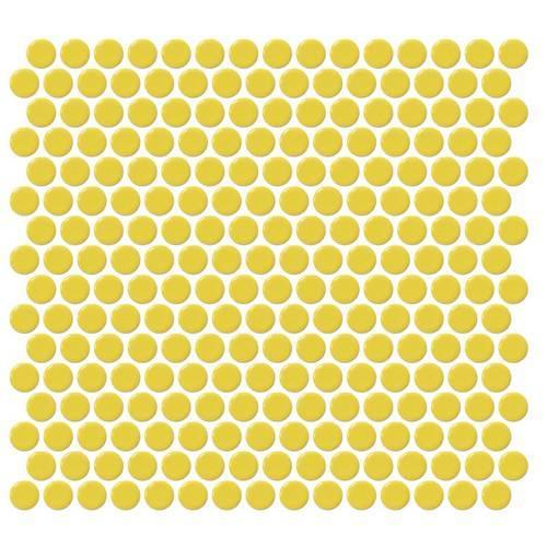 Retro Rounds Daffodil Yellow 075X075 RR07