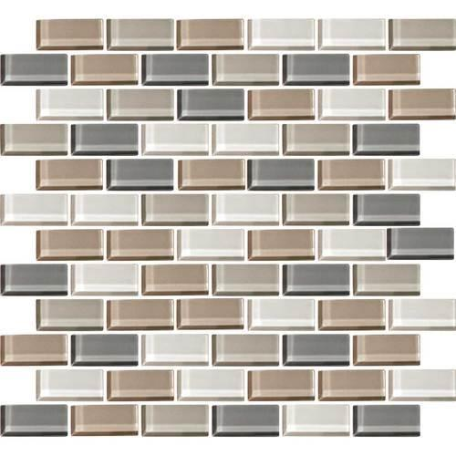 Color Wave Willow Waters Brick-Joint Mosaic CW21