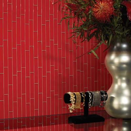 Color Wave Ice White Straight-Joint Mosaic CW01