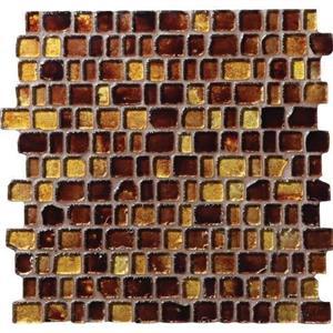 GlassTile JewelTide JT051RANDMS1P AmberWave