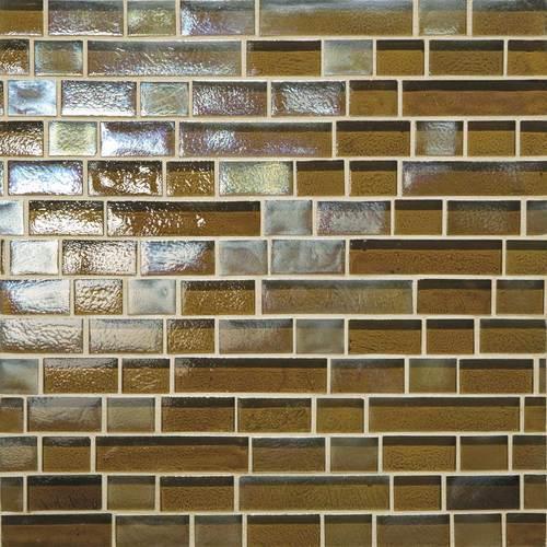 Glass Horizons Driftwood Random Linear Mosaic GH06