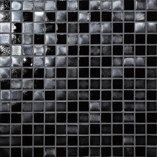 Glass Horizons Black Sand Mosaic GH09