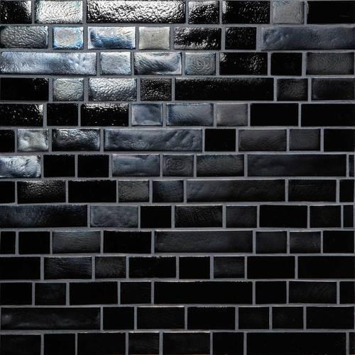 Glass Horizons Black Sand Random Linear Mosaic GH09
