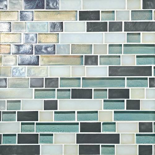 Glass Horizons Atlantic Blend Random Linear Mosaic GH11