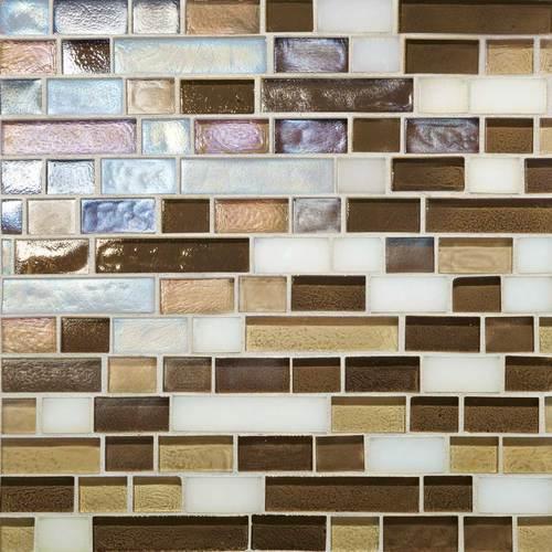 Glass Horizons Mediterranean Blend Random Linear Mosaic GH12