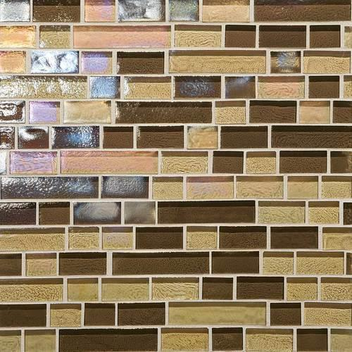 Glass Horizons Caspian Blend Random Linear Mosaic GH13