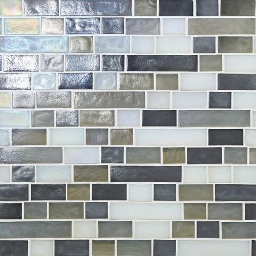 Glass Horizons Arctic Blend Random Linear Mosaic GH15