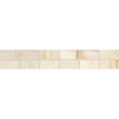 Fashion Accents Beige Swirl 2 X 12 Convex Accent F002