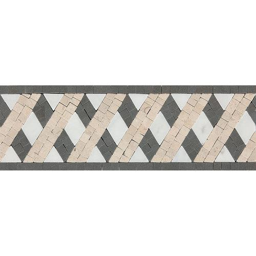 Fashion Accents Lattice 4 X 12 Decorative Accent F006