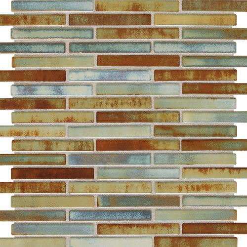 Fashion Accents Illumini Lake 5/8 X 3 Random Mosaic F015