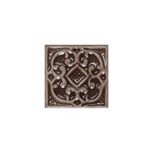 Fashion Accents Chocolate 2 X 2 Petitfour InsertLtBrGtSet Of 4 FA07
