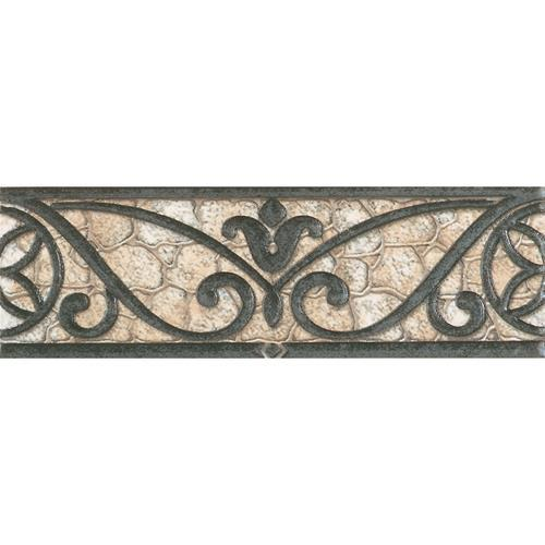Fashion Accents Wrought Iron Beige 3 X 8 Accent Strip FA30
