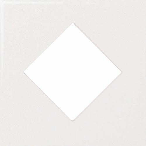 Fashion Accents 100 White 4 1/4 X 4 1/4 Diamond Insert FA50