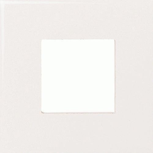 Fashion Accents 100 White Square Insert 4 1/4 X 4 1/4 FA50
