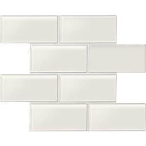 GlassTile Amity AM50361P White