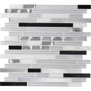 GlassTile Endeavors F16458RANDMS1P NeoClassic