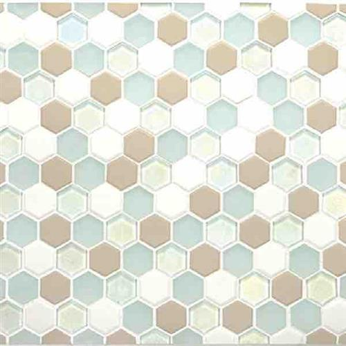 Coastal Keystones Trade Wind Hexagon Mosaic CK86