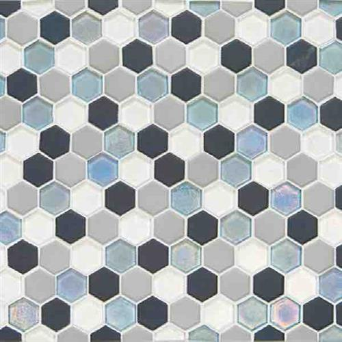 Coastal Keystones Tropical Thunder Hexagon Mosaic CK88
