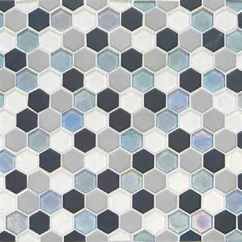 Tropical Thunder Hexagon Mosaic