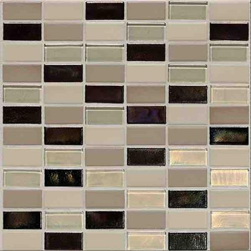 Coastal Keystones Sunset Cove 2 X 1 Straight-Joint Mosaic CK89