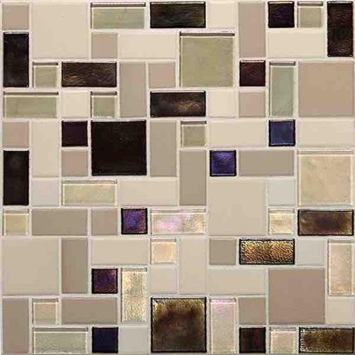 Coastal Keystones Sunset Cove Block Random Mosaic CK89
