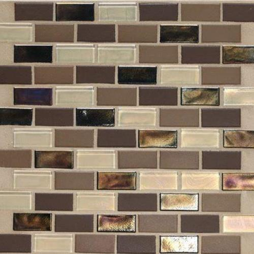 Coastal Keystones Treasure Island 2 X 1 Straight-Joint Mosaic CK90