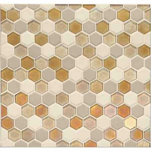 Coastal Keystones Island Harvest Hexagon Mosaic CK91