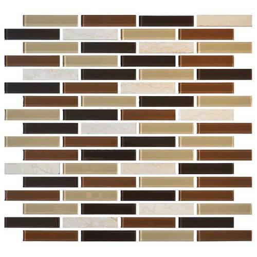 Mosaic Traditions Desert Dune 5/8 X 3 Brick-Joint Mosaic BP94