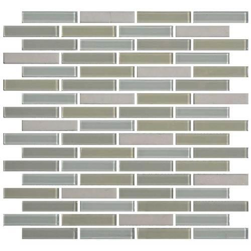Mosaic Traditions Oasis 5/8 X 3 Brick-Joint Mosaic BP98