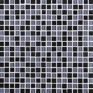 GlassTile GraniteRadiance GR615858MS1P AbsoluteBlackBlend
