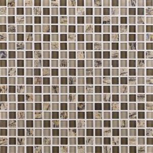 GlassTile GraniteRadiance GR655858MS1P SantaCeciliaBlend