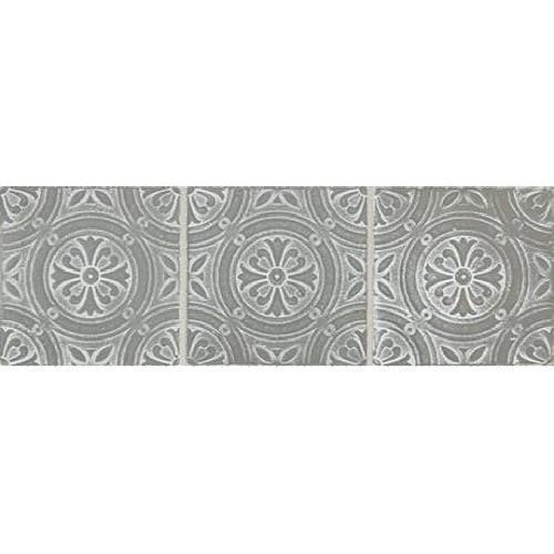 Vintage Metals Whitewash Titanium - Rosette