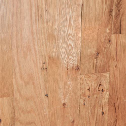Unfinished Solid White Oak Natural