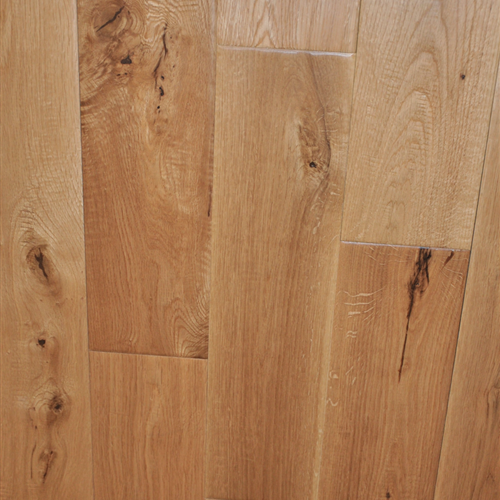 Prefinished Solid White Oak Mckinley