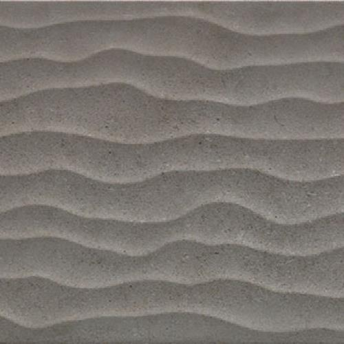 Moline Wall Gris Wave Wall Tile