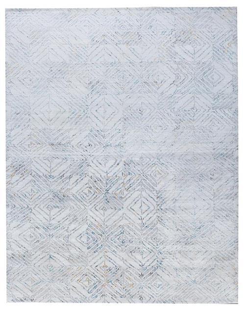 Alby-Diamond Ivory Blue