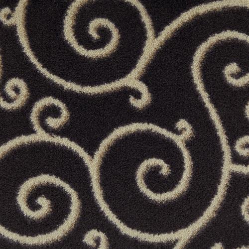 Milliken Traces Black Velvet