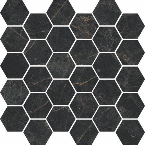 Cathedral Nero - Hexagon