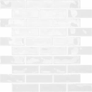 CeramicPorcelainTile Allure CAAGLWHALLURMOBR GlossyWhite-Mosaic