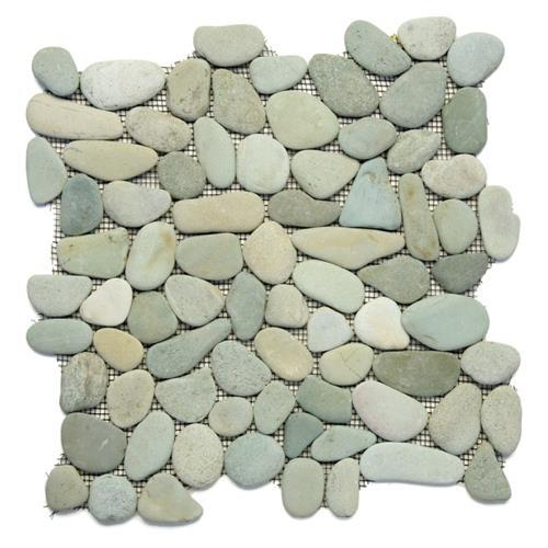 River Rock Pebbles Turquoise
